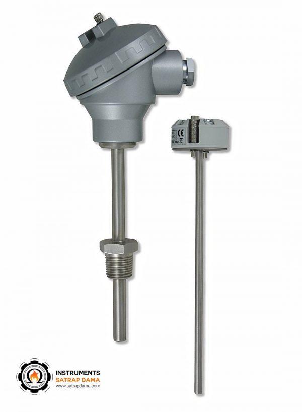 ترموکوپل با اتصال ترانسمیتر دما